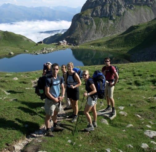 Das Höchste für Bergwanderer und Skifahrer