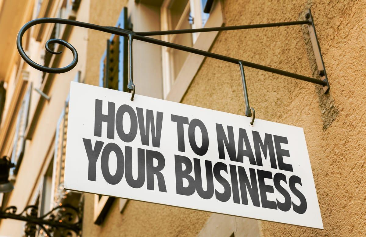 Mit welchen Firmennamen Gründer gut fahren