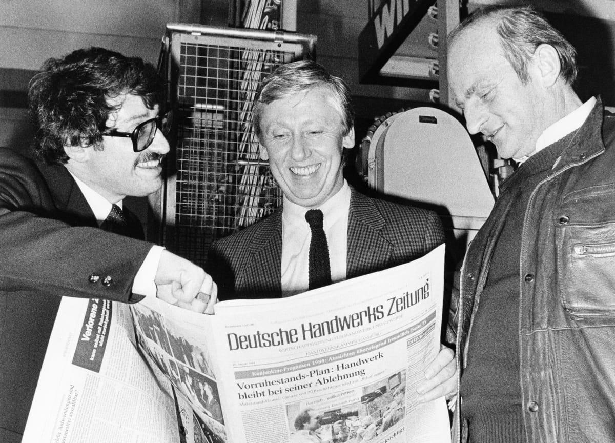 Zeitungsmacher im Wandel der Zeit