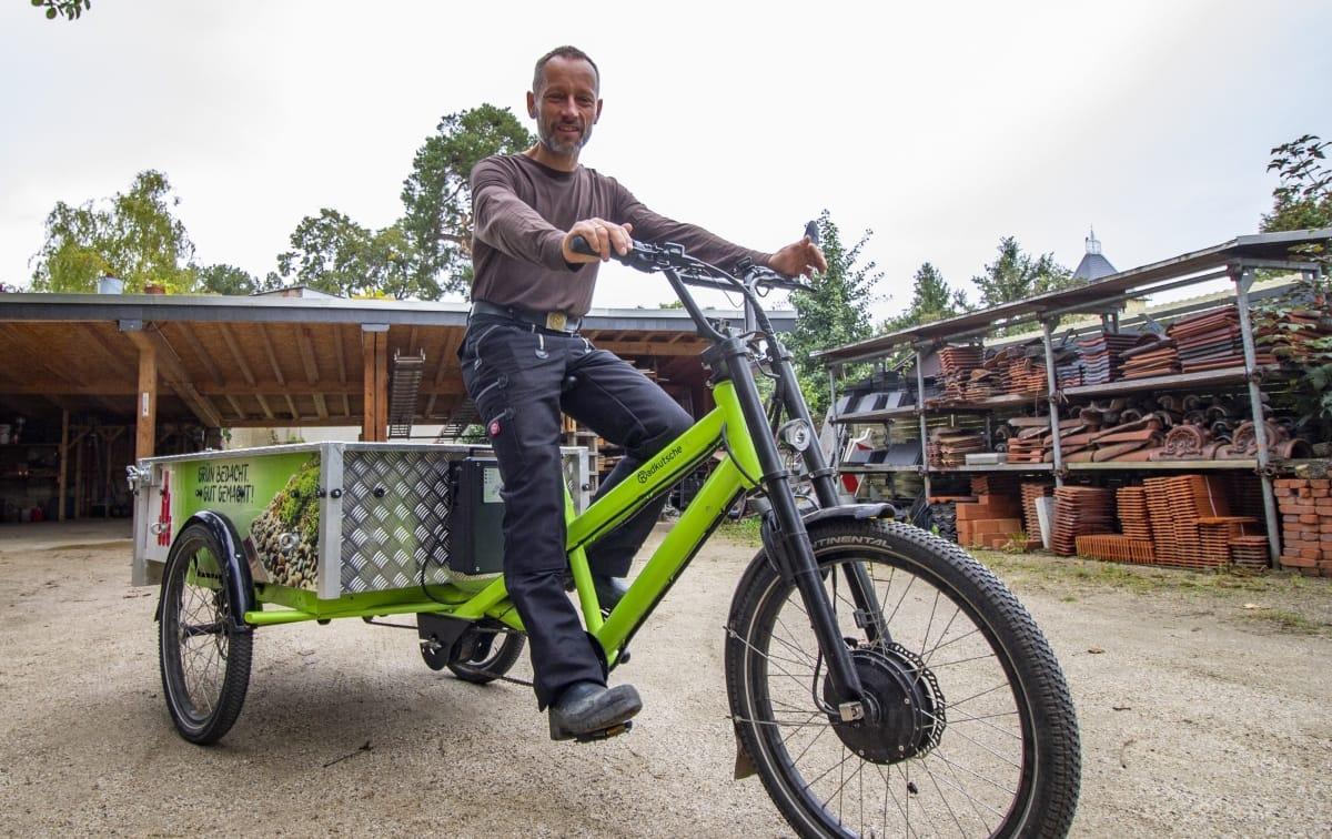 Cargobikes im gewerblichen Einsatz: So funktioniert es
