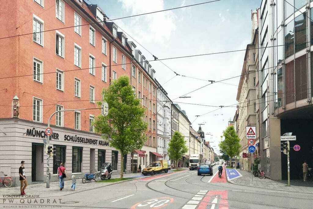 Animation Fraunhoferstraße