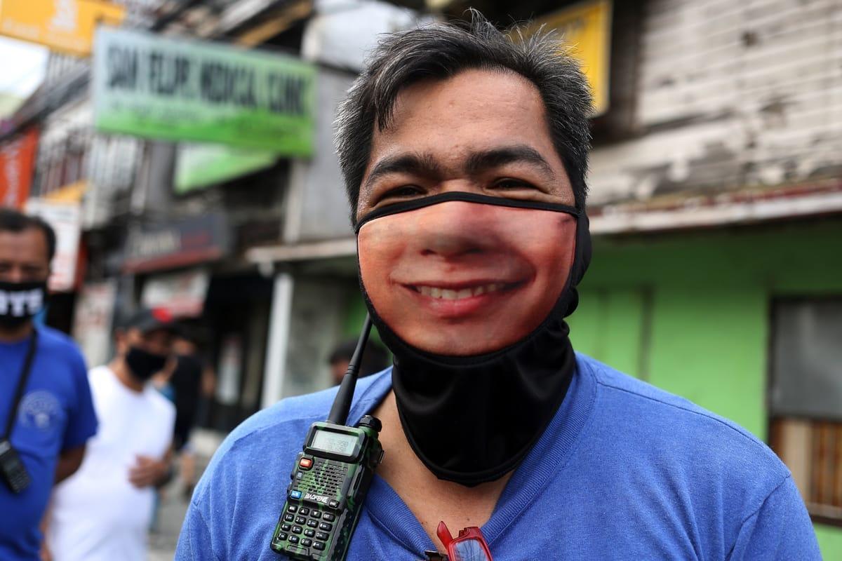 Corona-Kuriositäten: Mund-Nasen-Schutz mal anders