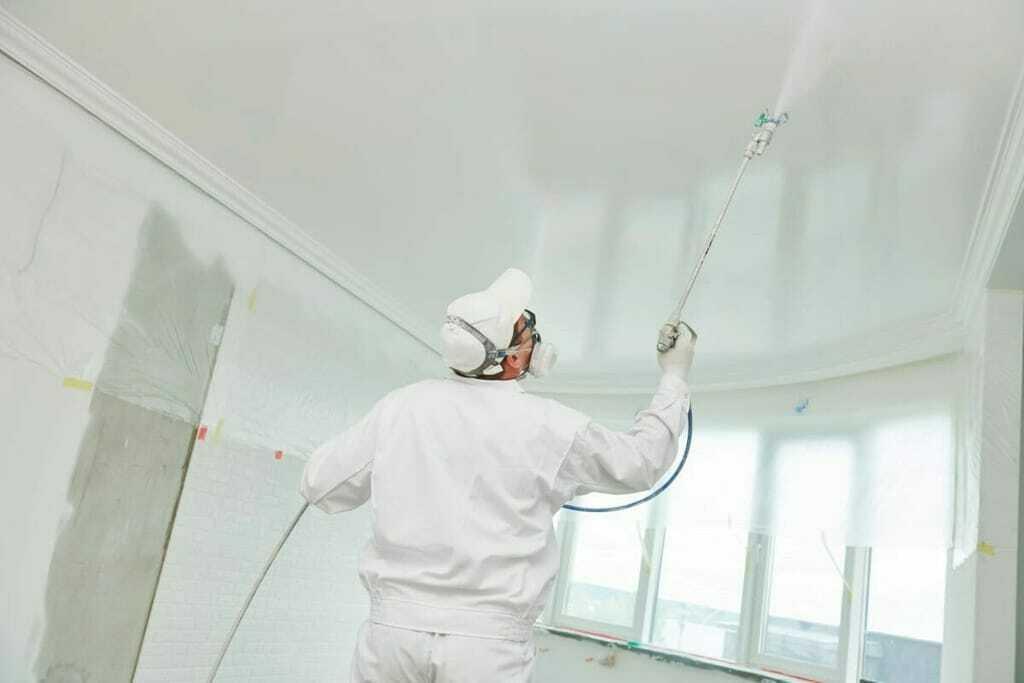 Titandioxid ist in vielen Farben und Lacken enthalten.