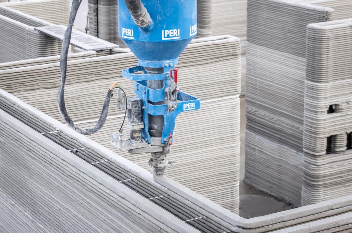 3D-Betondrucker