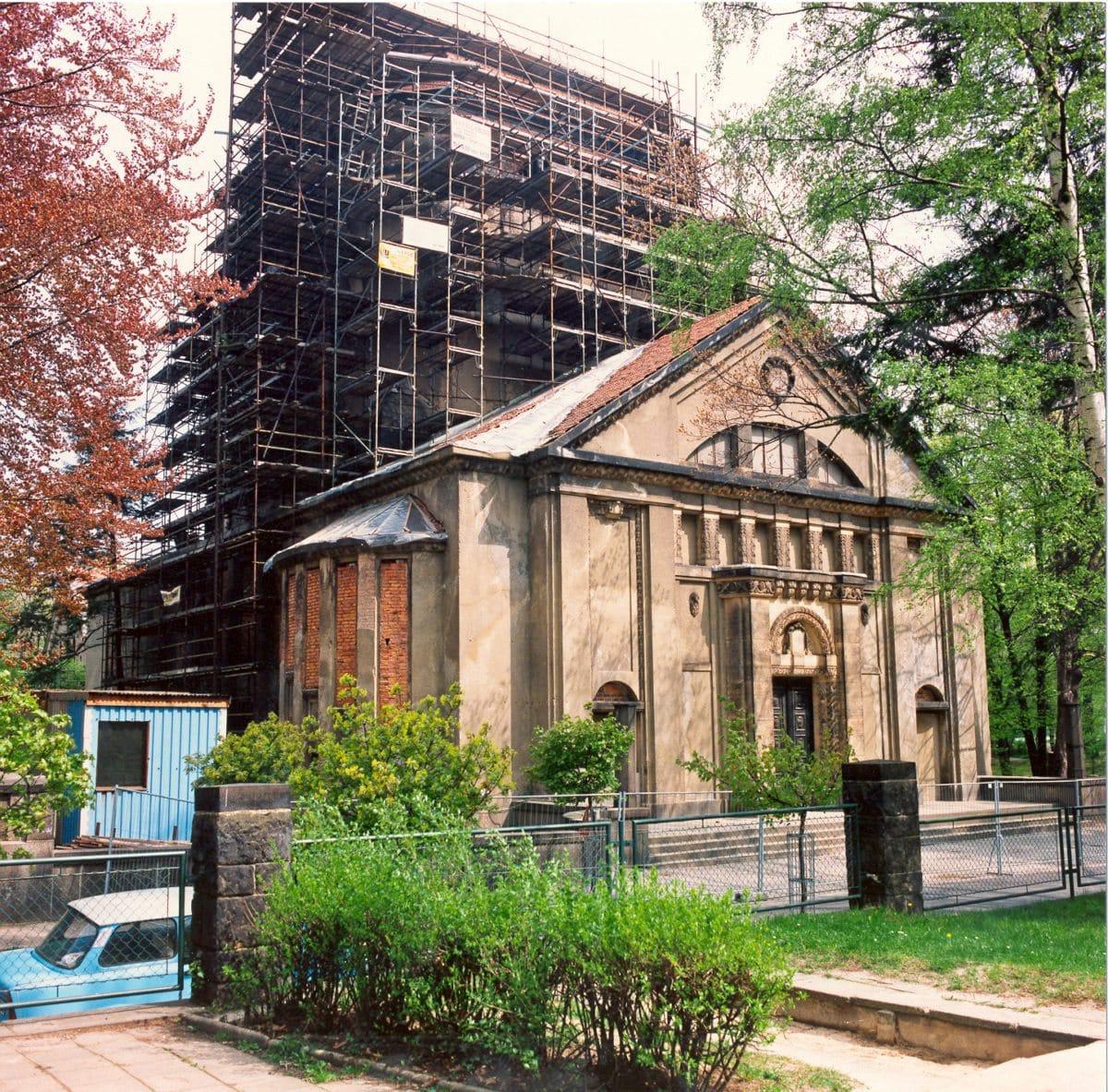 Görlitzer Synagoge (Jugendstil), vor der Sanierung