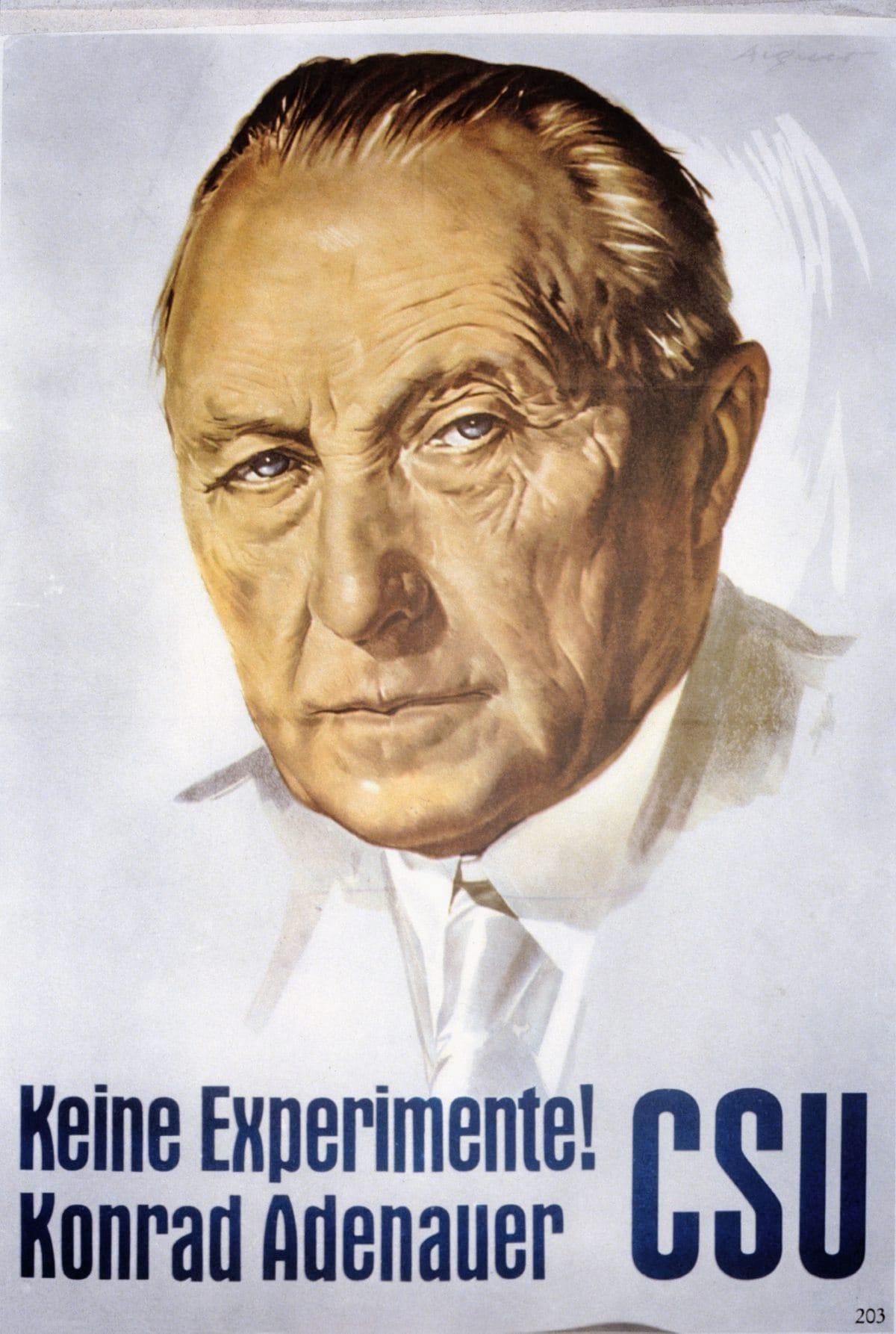 Konrad Adenauer 1957