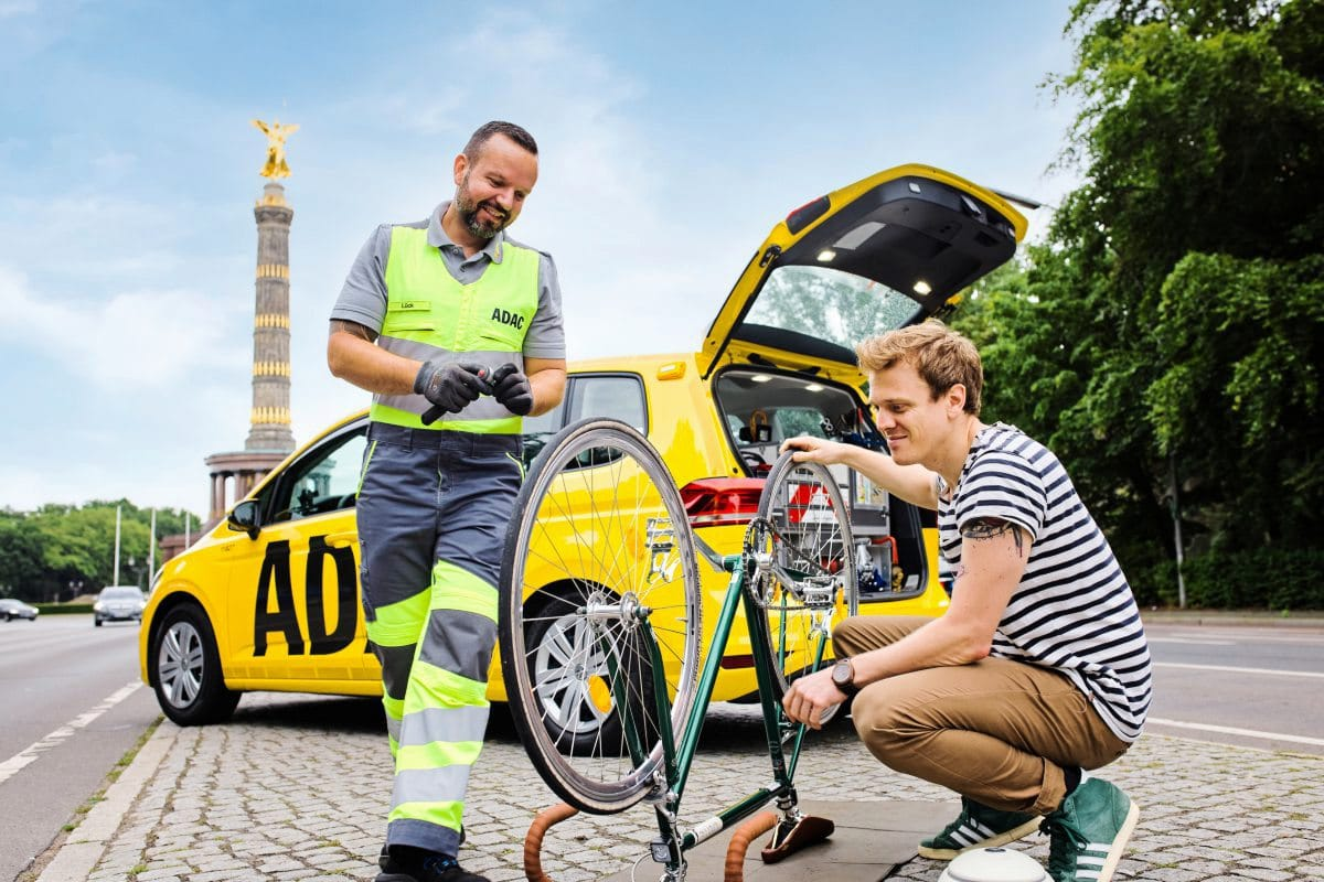 Pilotprojekt: ADAC bietet Fahrrad-Pannenhilfe an