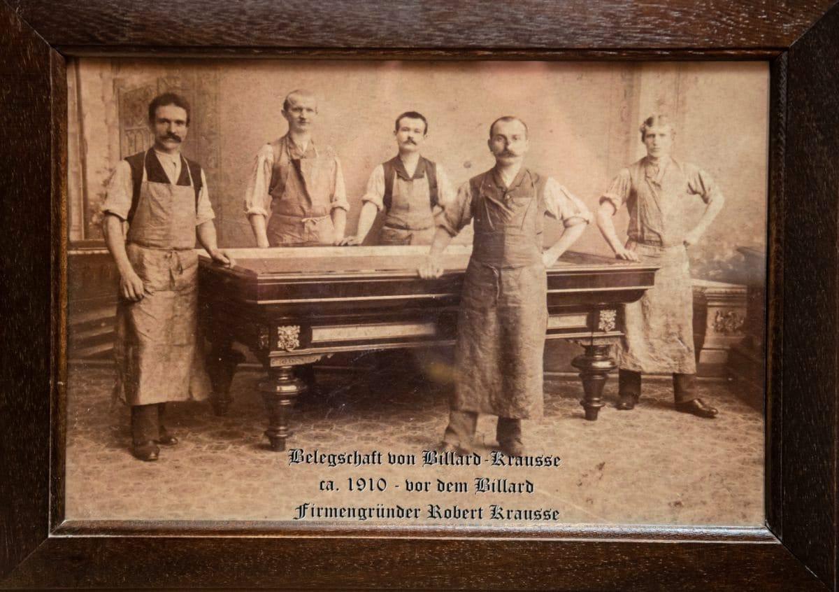 Billard-Krausse in Chemnitz
