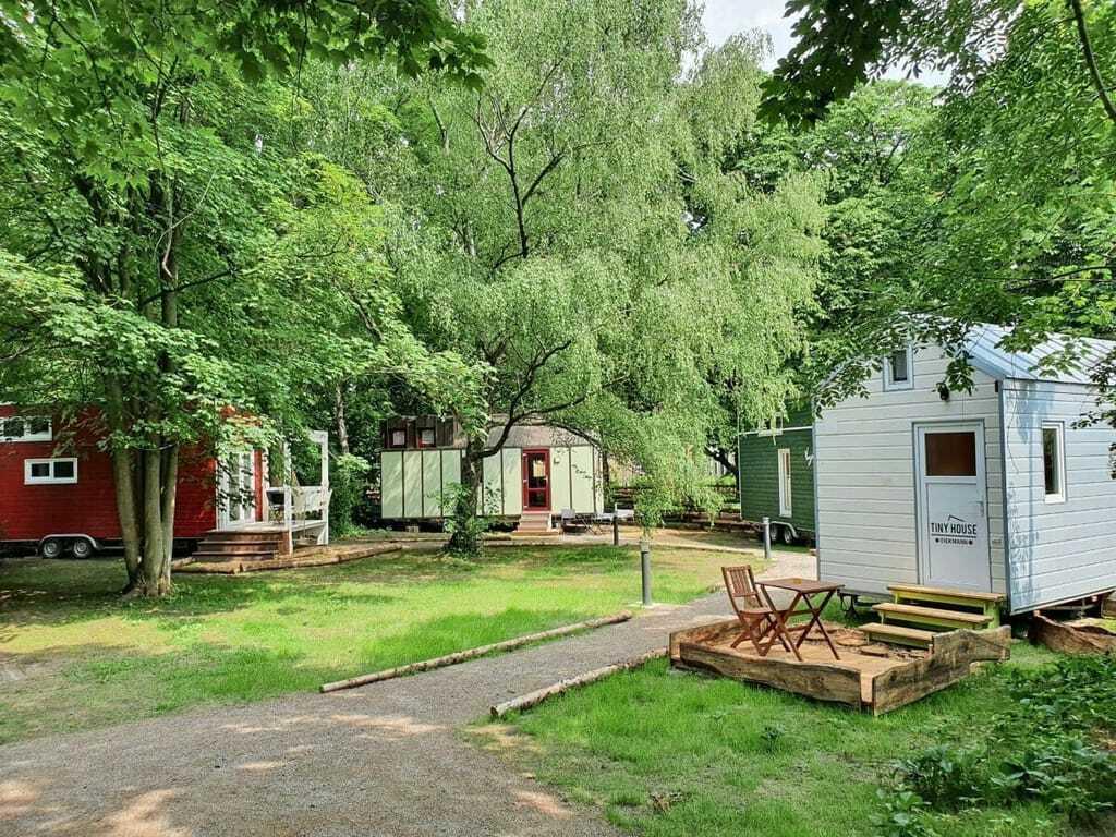 Tiny House Hotel am Kanal in Hamm