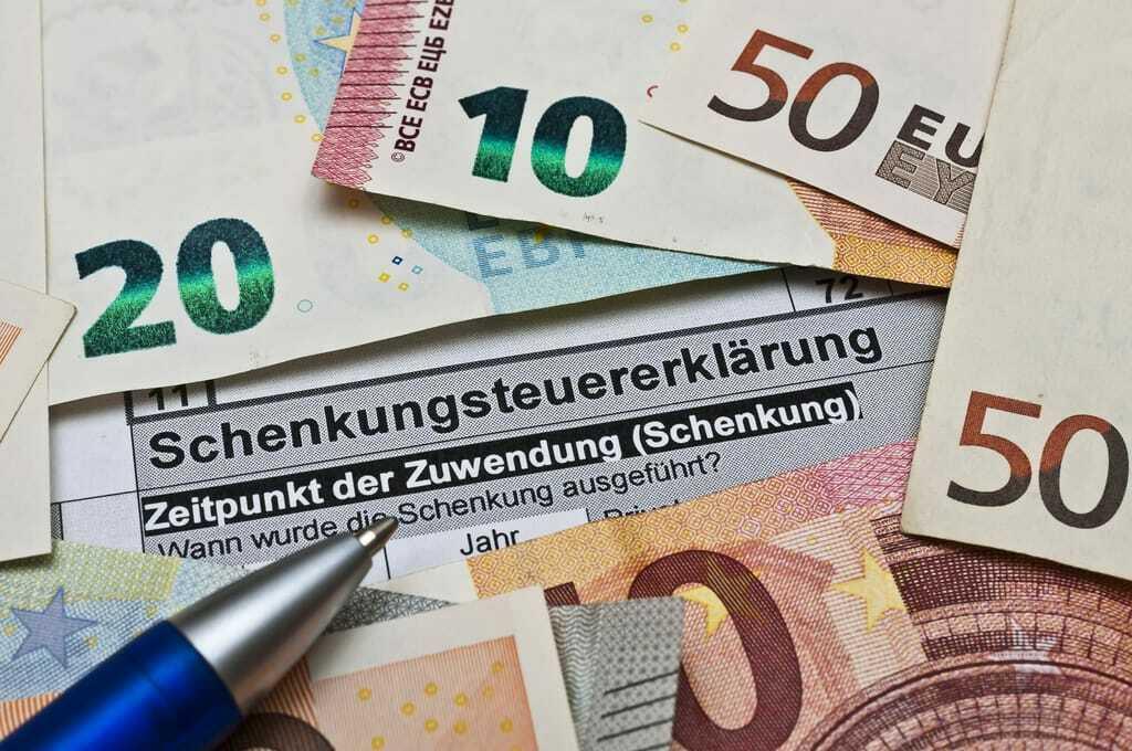 Schenkungsteuererklärung