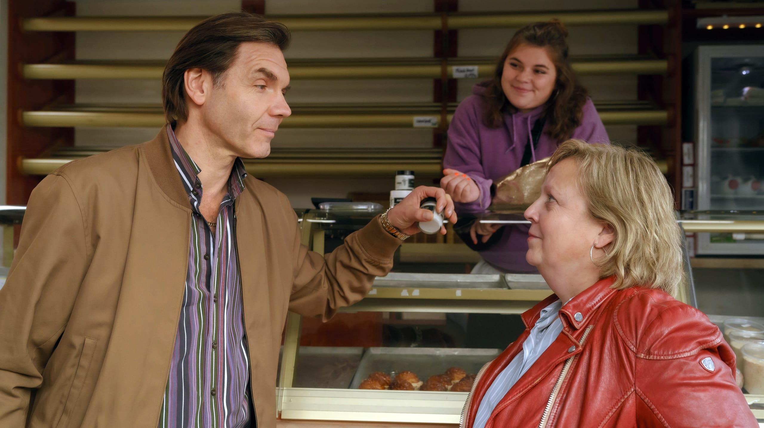 Szene aus ARD-Serie Tina mobil.
