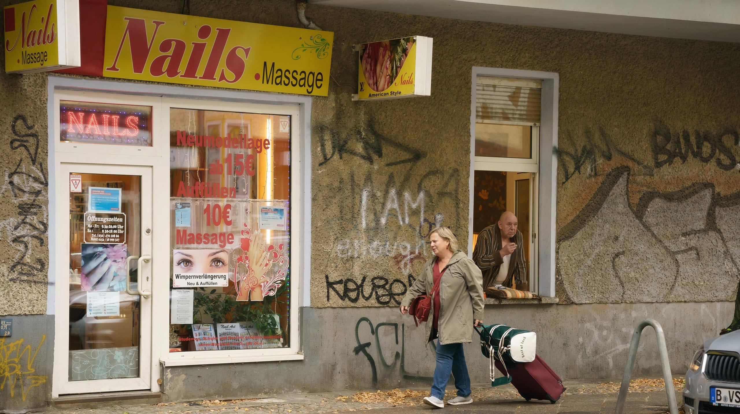 Szene aus der ARD-Serie Tina mobil.