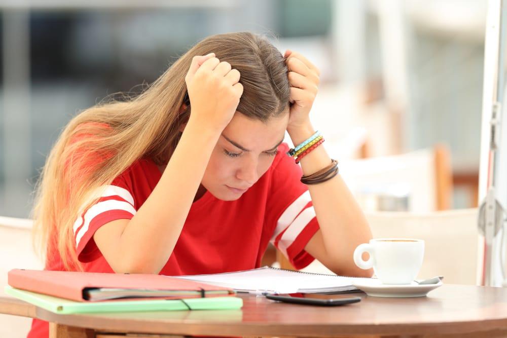 Schlechte Noten in der Berufsschule