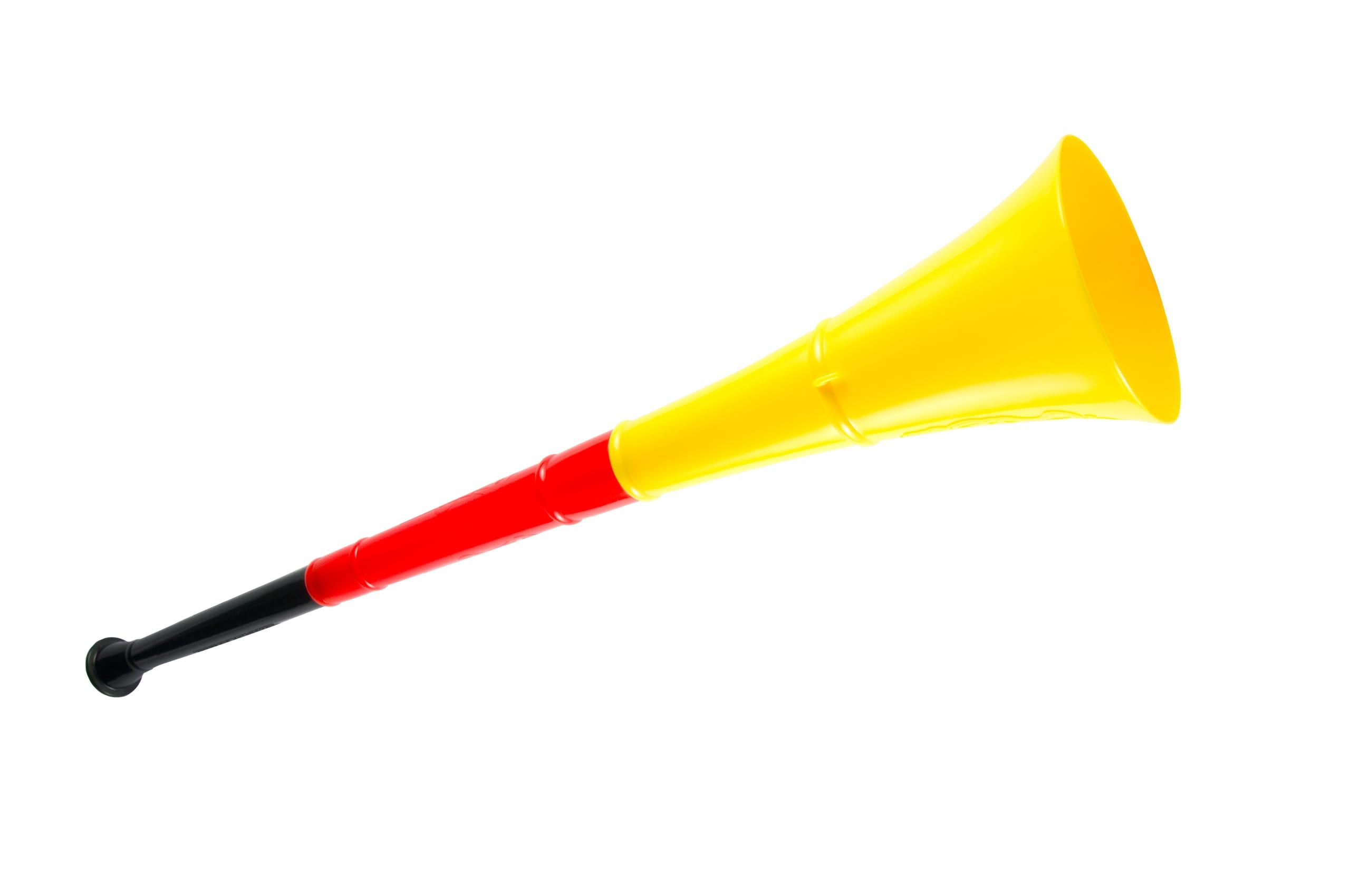 Vuvuzela in Deutschland-Farben