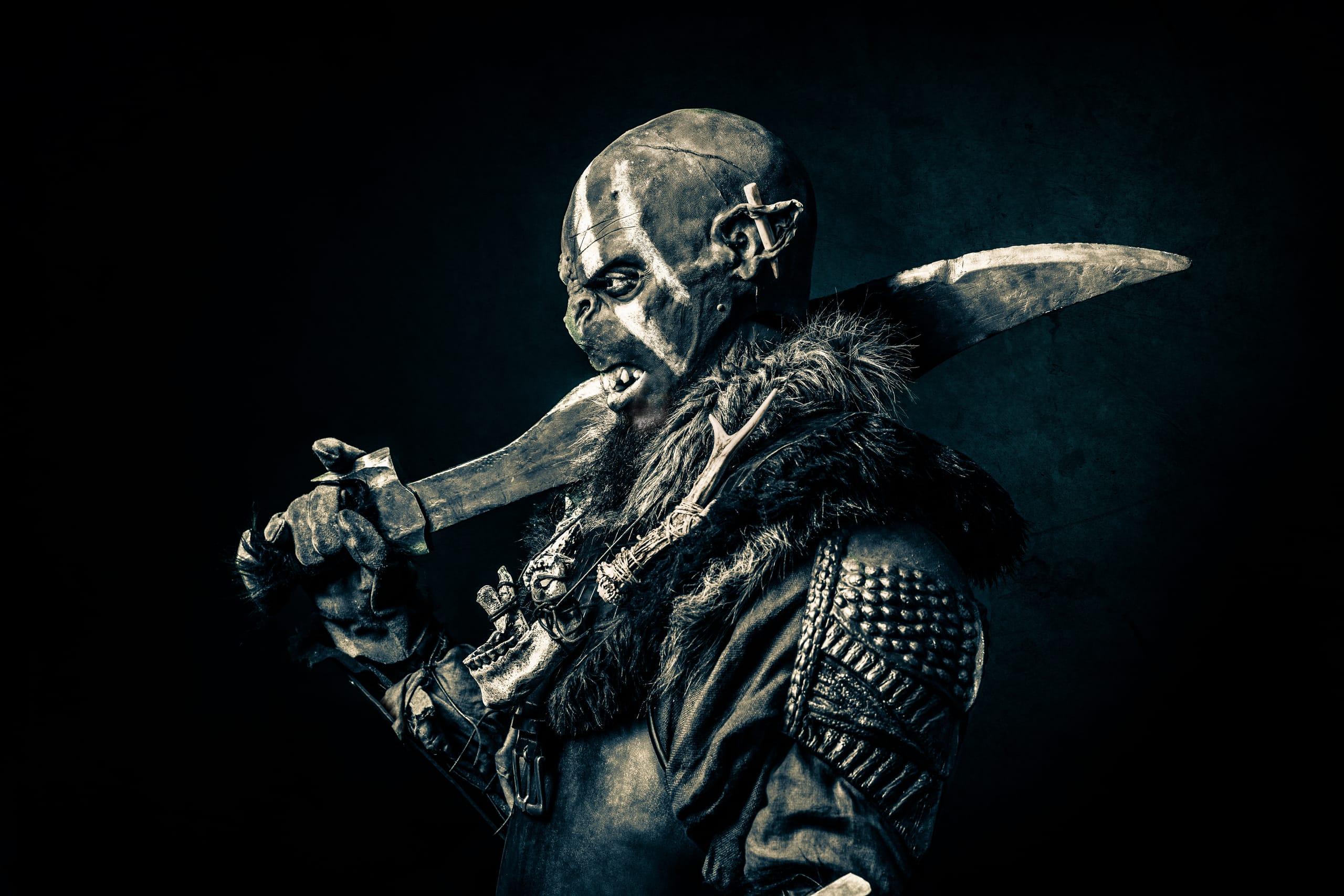 Ork mit Schwert