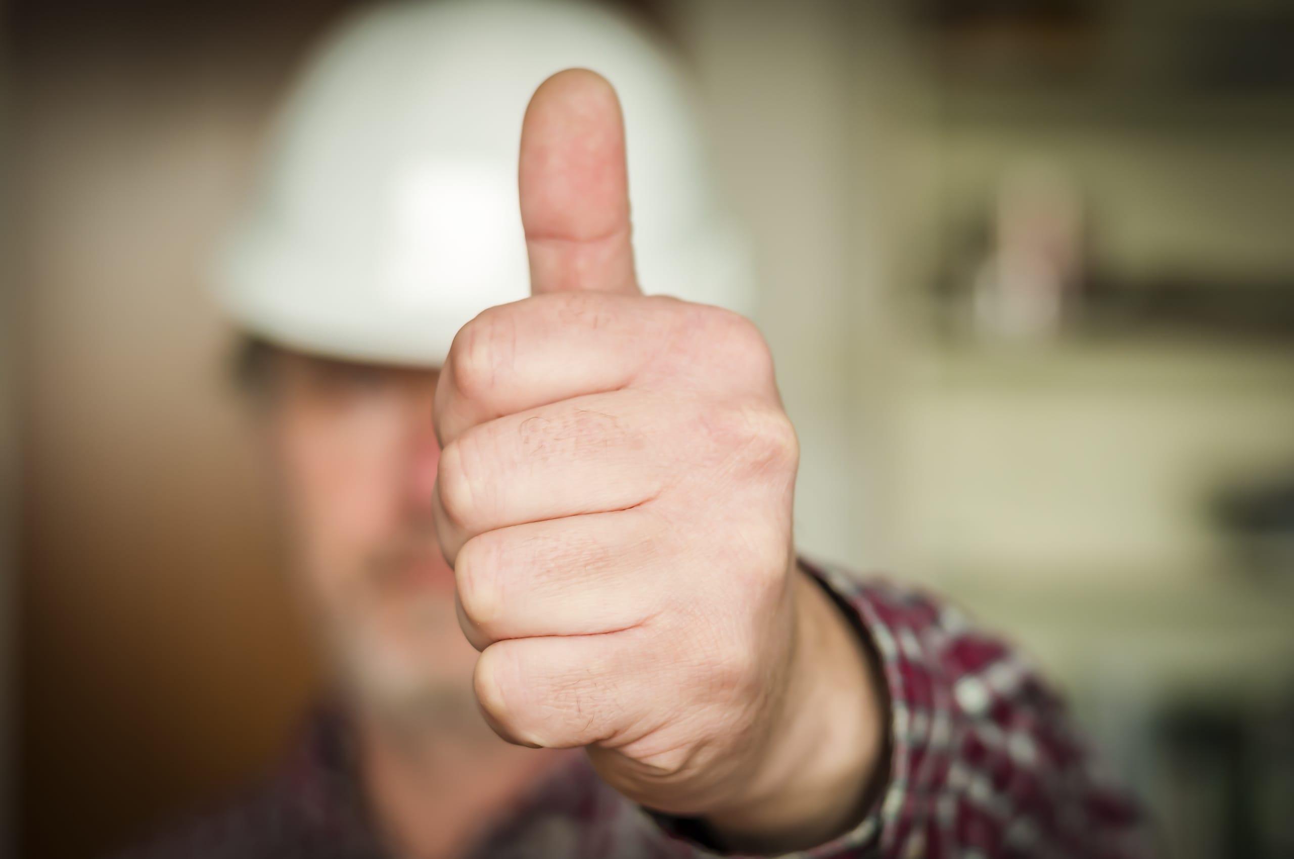Handwerker erhalten gute Noten für ihren Job in der Krise