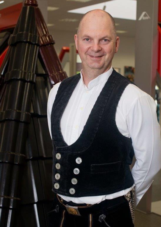 Dachdeckermeister Joachim Schaumlöffel